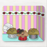 Muffins in their Environment Mousepad