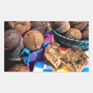 Muffins Rectangular Sticker