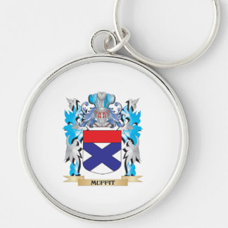 Muffit Coat of Arms - Family Crest Keychain