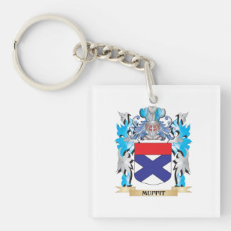 Muffit Coat of Arms - Family Crest Acrylic Key Chains