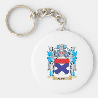 Muffit Coat of Arms - Family Crest Keychains