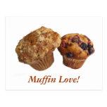 Muffun Love! Postcard