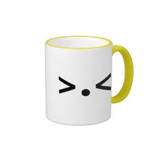 >.< RINGER COFFEE MUG