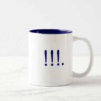 !!!. Two-Tone COFFEE MUG