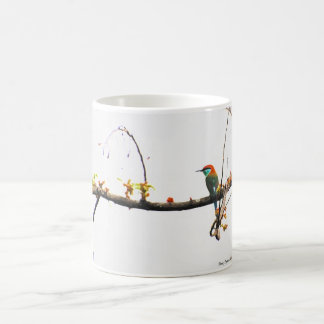 Mug 11 0z. Blue throated bee eater bird design