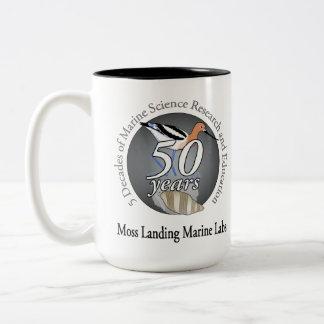 Mug (15 oz): two-tone, bird/invert