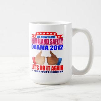 Mug: 2012 Obama - Homeland Safety Classic White Coffee Mug