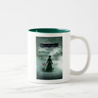 Mug, 2 Tone, Cover, Mourning Bells Two-Tone Coffee Mug