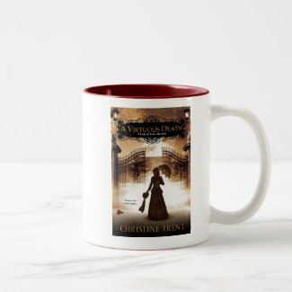 Mug, 2 Tone, Cover, Virtuous Death Two-Tone Coffee Mug