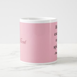Mug, 2-tone, Florence Nightingale Quote Giant Coffee Mug