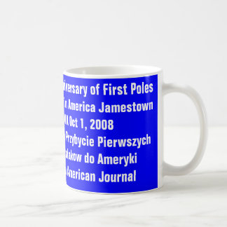 mug 400th Anniversary Arrival of First Poles...