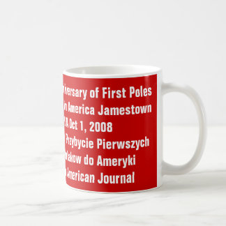 Mug, 400th Anniversary of First Po... - Customized Classic White Coffee Mug