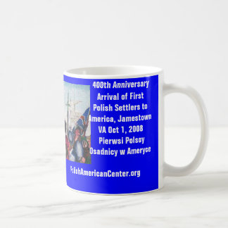 Mug, 400th Anniversary of First Polish Settlers Coffee Mug