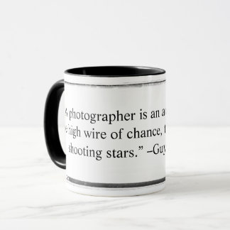 Mug A photographer is an acrobat quote Querrec