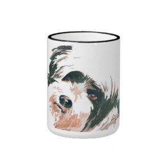 Mug - adorable terrier named Goggles