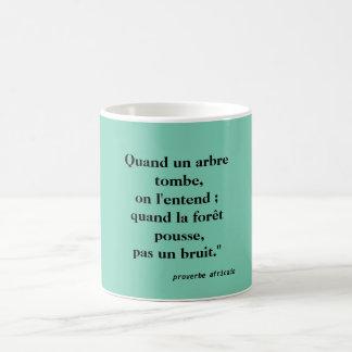 mug African proverb