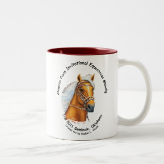 Mug, Almosta Farm Shindig and Trail Ride, Fall 201 Two-Tone Coffee Mug