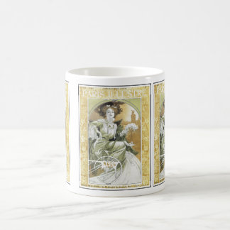 Mug: Alphonse Mucha - Art Nouveau Coffee Mug