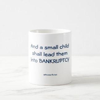 Mug: And a small child shall lead them into . . . Coffee Mug