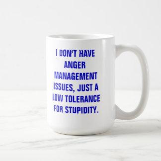MUG-ANGER MANAGEMENT COFFEE MUG