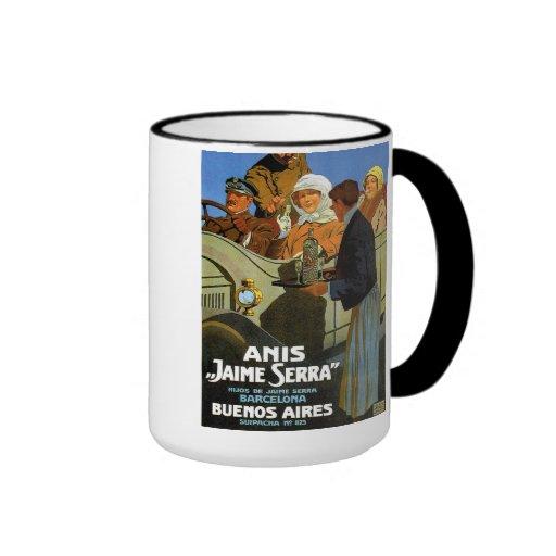"""Mug """"Anís Jaime Serra """" Tazas De Café"""