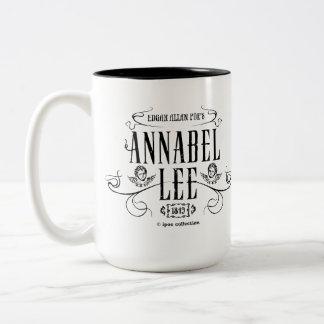"""Mug """"Annabel Lee"""" Taza De Café"""