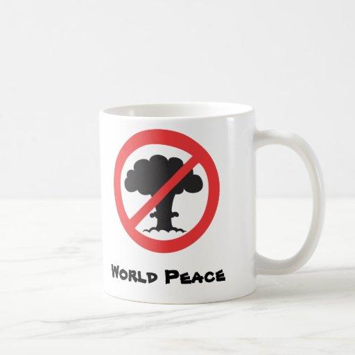 Mug: anti nuclear weapons symbol