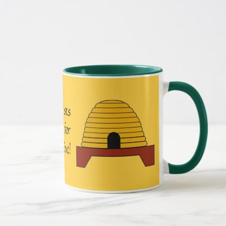 Mug - Apiarists do it for the hive!