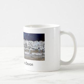 Mug, Appledore, Devon Classic White Coffee Mug