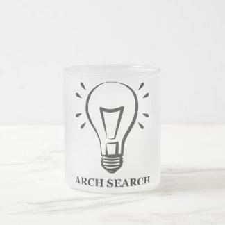 Mug Arch Search - Light bulb 296 ml Fosco Glass