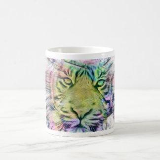 Mug - Artzy Tiger Portrait Edgy