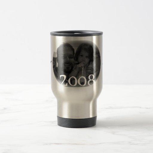 Mug, Ava | Daddy 15 Oz Stainless Steel Travel Mug