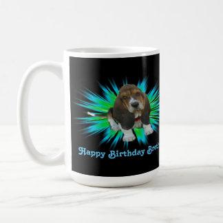 Mug Baby Basset Hound Happy Birthday Brother