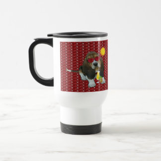 Mug Baby Basset Hound Summer Time Stainless Steel Travel Mug