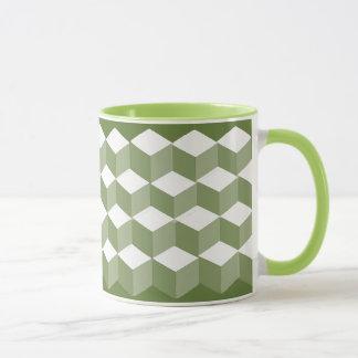 Mug - BabyBlock pattern in three shades