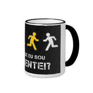 Mug, Bag that I am different? Ringer Mug