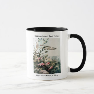 Mug / Barracuda and Reef Fishes