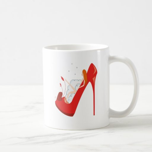 mug bath shoe