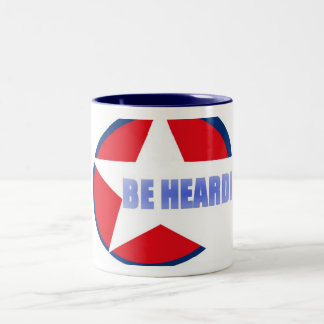 Mug - be heard!