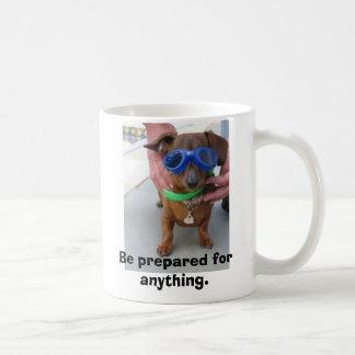 mug:  Be prepared for anything Classic White Coffee Mug