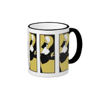 Mug: Beardsley Illustration - The Yellow Book