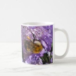 Mug - Bee on Scabious Flower