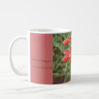 Mug, Beverage - Agastache Blooms Coffee Mug