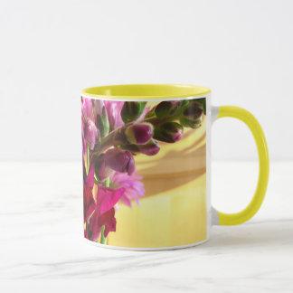 Mug, Beverage - Snapdragon Bouquet Mug