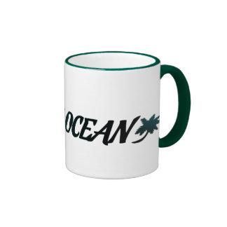 Mug bicolor combinado Pacific Océano Taza De Dos Colores