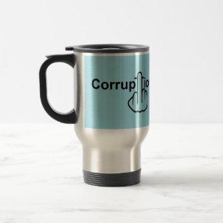 Mug Bird Flipping Corruption Sucks