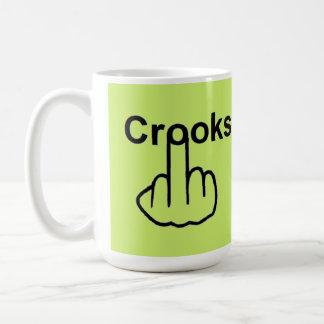 Mug Bird Flipping Crooks Flip