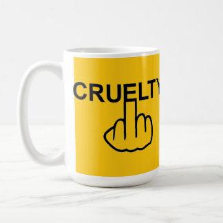 Mug Bird Flipping Cruelty Is Cruel
