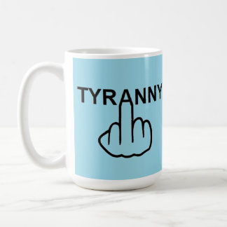 Mug Bird Flipping Evil Tyranny