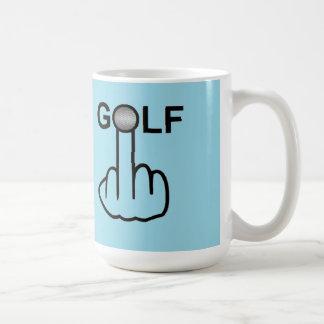 Mug Bird Flipping Golf Flip